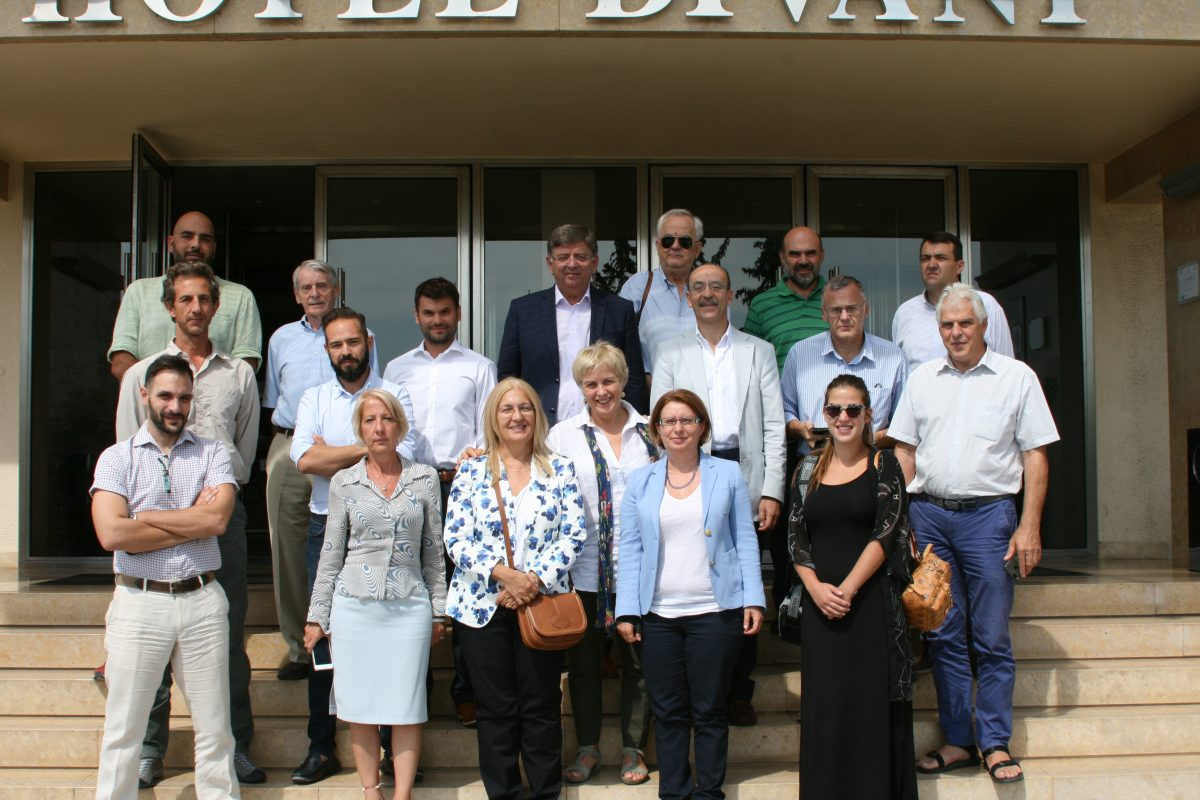 METEORA: 1st progress meeting, 11 September 2018, Meteora